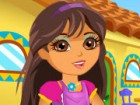 Help Dora to clean her house and decorate it for the Party. Your job is to put