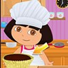 Dora the explorer is a talented cook and when she is free, she tries her hand a