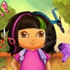 In the 8th title of Real Haircuts, Dora wants to change her look completely. As