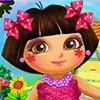 We have prepeared a cool Dora real makeover game for you. You can make facial makeover to Dora. After facial makeover you will make up Dora with nice make up tools. At the end of game dress up dora and choose a hairstyle to her. Don't forget to select accessories like earrings , face paintings , neclases , bracelets and tiaras to her. Have fun with Dora!