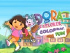 Hi buddies, Dora is now back with her lovely friend Boots. Color this wonderful