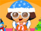 Hi Kids, Celebrate this Christmas with your favorite Dora. She wants to have ne