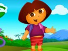 Come on, let's find a differences between two images. Thus, our cute Dora will