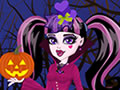Play Draculaura's Halloween Costumes and dress up monster high's cool ghoul Dra