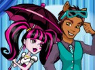The hottest couple in Monster High - Draculaura And Clawd Wolf are invited to d