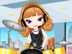 OMG! Drummer Girl, who became famous on a huge talent show on TV is about to pe