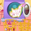 Get this fun Easter Holiday game started, join Wendy in her laundry room and gi