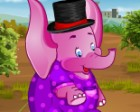 Do you really like the pink animals? Now you have the oportunity to dressup a v