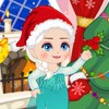 Busy with prepare for the Christmas Party really boring, let's do some slacking with Elsa. Play some mini games. Have fun!