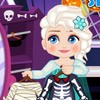 It's time to Halloween Day again. Elsa was busy with prepare for the Halloween
