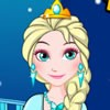 To start Elsa's dress creation, select the top amazing dress. It may have a s