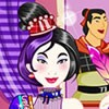 Dress up Chineese princess Mulan with emo style traditional dresses and accesso