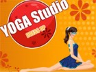 dress up this girl in her Yoga Studio.