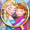Elsa's home, the great lands of Arendelle, is completely frozen. A magical spell was used to freeze everything in the land and it will be Elsa's great task to save it. In order to destroy the powerful spell that froze her land, she will need to find the magical items. They were lost and you can help Elsa find the all. Start the great game called Frozen Hidden Adventure and help the Frozen queen with her task. There are three places in which you have to look for the lost items, which are Elsa's room, the woods and the castle.