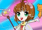 Sakura is the Guardian of the cards. She uses her magical powers to overcome ob