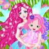 Shortly after the wedding our beautiful fairy gave birth to a cute baby girl! S
