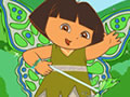 Dora wants to be a fairy in forest. She wants from you dress up her like a fair