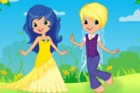 Play this fun fairy wedding dress up games for girl. This cute fairy couple is