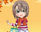 Dress up prettiest girls in fall season fashion. You can be her designer for fa