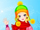 Keep you warm with a fashion bobble hat! Try different winter clothes to fit wi