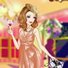 Have you experienced a sparkling party? Here is a pretty girl and she definitel