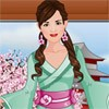 Play our latest Fashion studio game and design a cool Kimono for this cute mode
