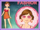 This girl want to become fashionable in this world of fashion is not easy. Do y