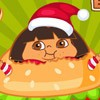 Help the Fat Dora eat her favorite foods, avoid the things can't be eat! Make D