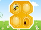 In this puzzle game you must guide the bee safely into his hive. You will be sh