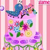 Hi! How about a creamy and yummy flower cake with attractive flower patterns in