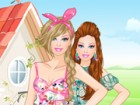 Barbie will spend this weekend with her best friends at a gorgeous countryside