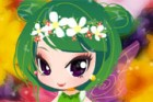 This little flower fairy wants to refresh her look and she needs a great stylis