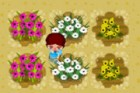 Teena's favourite job in her grandparent's farm is taking care of flowers!