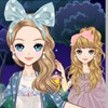 Come an play this wonderful dress up game. You will get the change to dress and make up one of our cutest dolls. Choose from a wide range of clothes and accessories. Have fun!