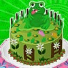How crazy it would be if someone has brought a cake which has a frog design on