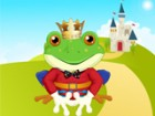 The prince has been transformed into a frog by a witch. He needs a kiss from th