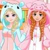 Frozen sisters needs a cool new bed. You must design and decorate a new bed for