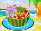 A food decoration is very important and it makes the food to look great. Here you have few ways to decorate a fresh fruit salad. Combine different fruits with awesome decorations and make the best salad ever. You have skills so you can't fail this challenge easily. Serve the delicious salad to your best friend and I am sure he or she will love it. Have a great time!