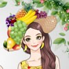 She likes eating fruits, also likes to wear fruit printed clothes.Create a swee
