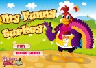 A funny dressup game for Thanksgiving! Dress this funny turkey in various outfi