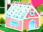 Decorate this gingerbread house with all sorts of fun icing and candy. A holida