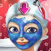 Ginormica (real name Susan Murphy) is the main hero of the Monsters vs. Aliens cartoon. Susan has peach-colored skin, blue eyes, and brown hair (now platinum white due to her mutation). Today we have a cool make up games for you. You can make up Ginoemica by playing this cool facial make up game. First give Ginormica a facial thereatment. Then make up and dress up Ginormica.