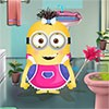 Bathroom of Minion girl is in a real mess. You must help Minion Girl to clean u