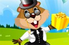 Phil the groundhog is a great companion! He does funny magic tricks and then th