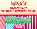 Halloween is right around the corner! Answer the questions to find out what sty