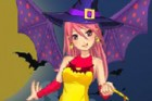 Nikki can't wait for Halloween celebrations! All she has to do is choose a gl