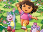 Whenever Dora spends time with her friends, she'll  become happy, it's one of t