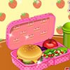 Let's prepare and decorate a school's lunch box...