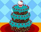Give a wonderful treat to Hello Kitty by decorating her Cake with yummy fruits