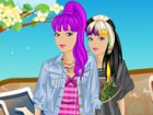 Check out Hip Hop Barbie dress up game and have a peek at Barbie's fancy hip ho